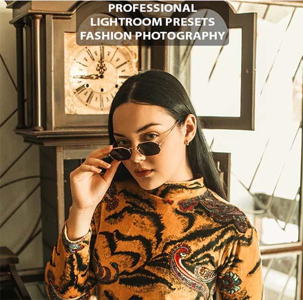 Golden Portrait Lightroom Presets Photography