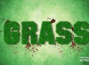 Grass Photoshop Actions