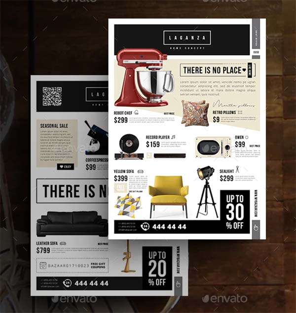 Home concept Product Flyer Template