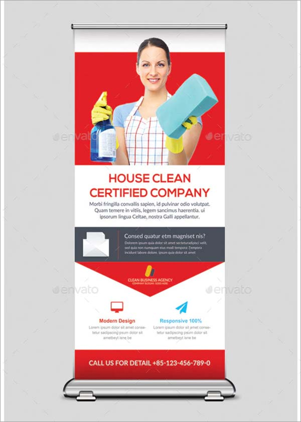 House Cleaning Services Banners Template
