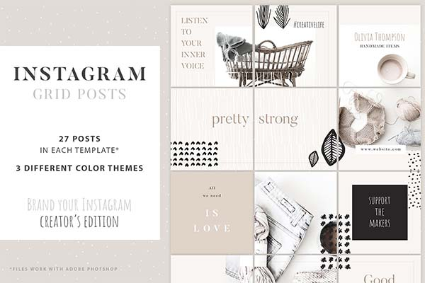 Instagram Grid Posts Creator