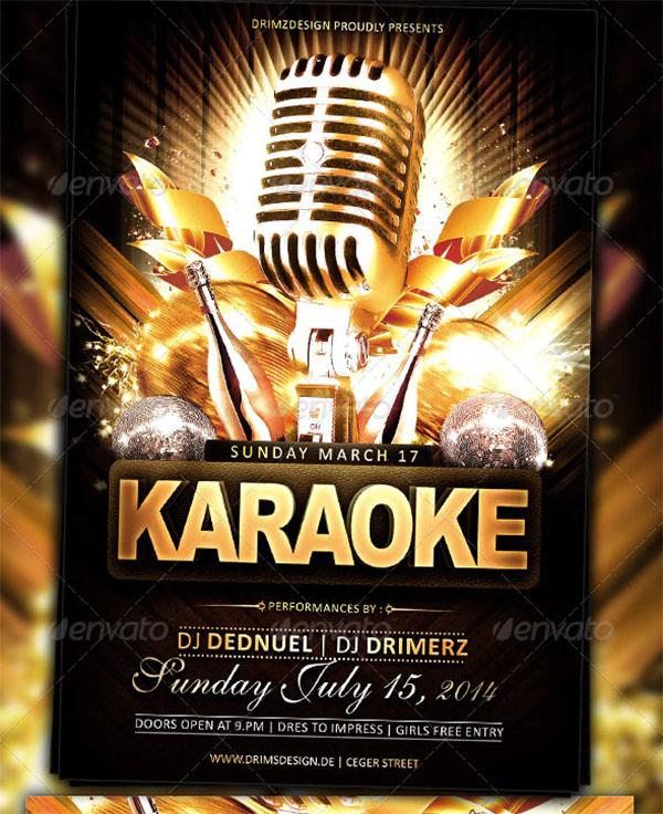 Karaoke Classy Flyer Template