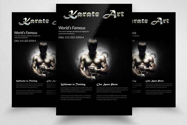 Karate Art Flyer Template