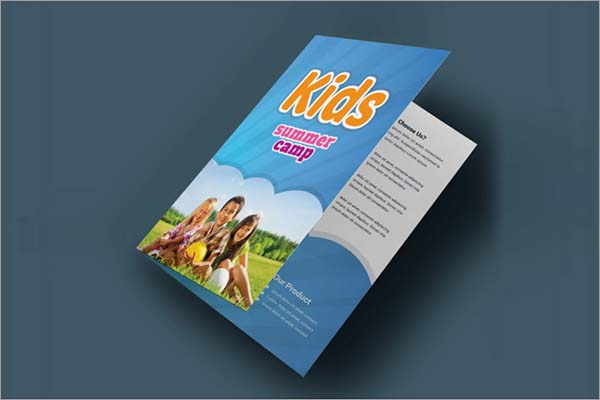 Kids Summer Camp Bifold Brochure