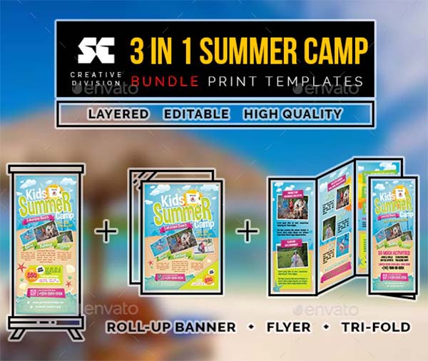 Kids Summer Camp Bundle