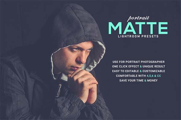 LR Portrait Matte Lightroom Presets