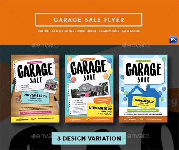 Latest Garage Sale Flyer Template