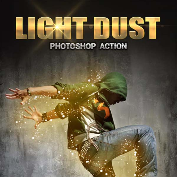 Light Dust PSD Action