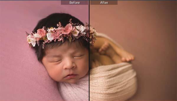 Lilac Baby Children Lightroom Presets