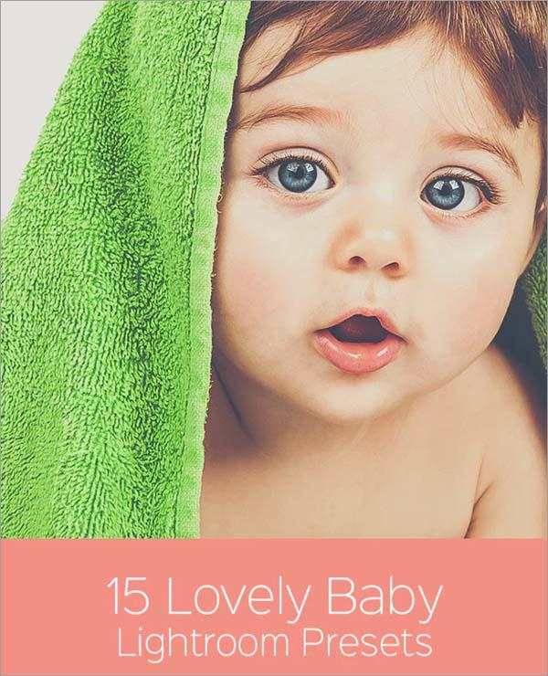 Lovely Baby Lightroom Presets