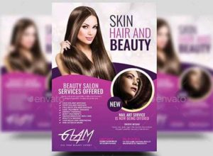 Makeup Flyer Templates