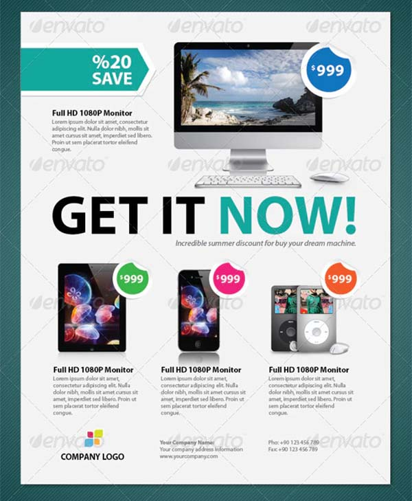 Marketing Product Flyer Template