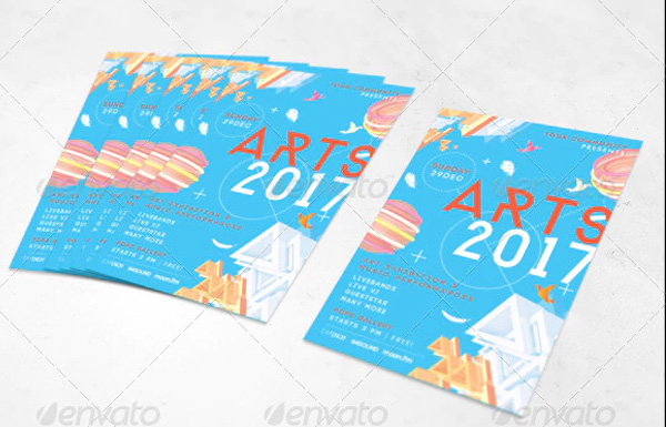 Modern Pop Art Flyer Templates