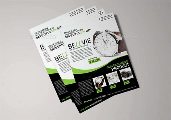 Modern Product Flyer Template
