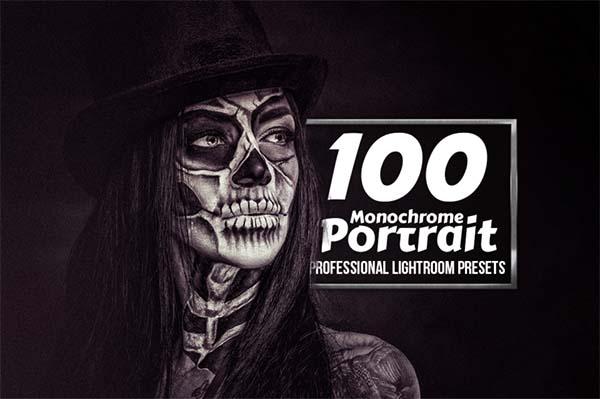 Monochrome Portrait Lightroom Presets