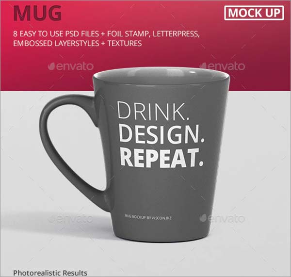 Mug Mockup Cone