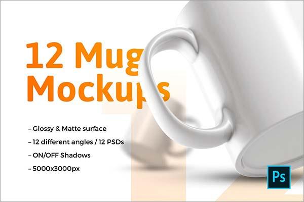 Mugs Mockups Design