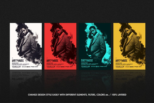 Music Art Flyer Templates