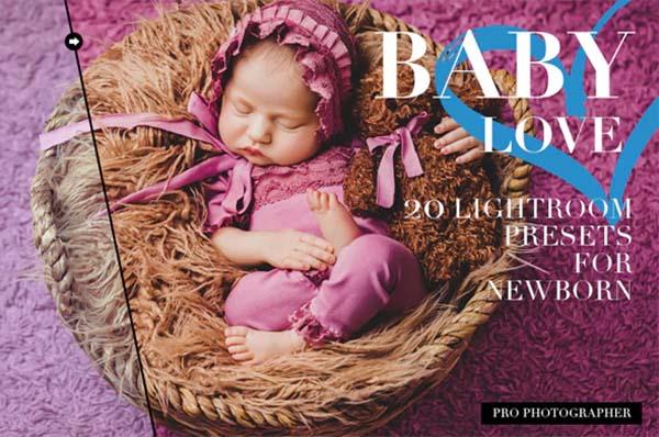 Newborn Lightroom Presets File