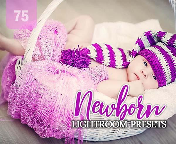 Newborn Lightroom Presets RAW, TIF