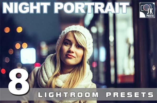 Night Portrait Lightroom Presets Photo