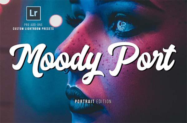 Portrait PSD Moody Lightroom Presets