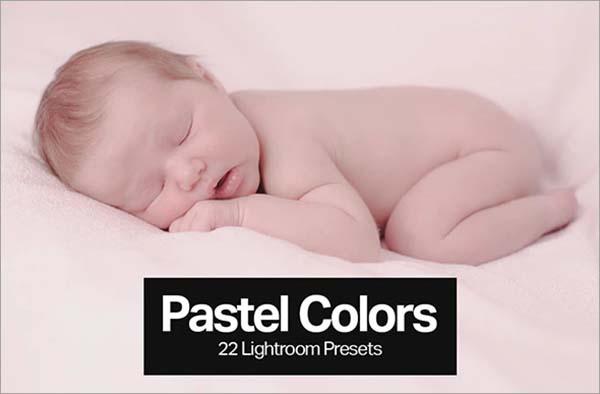 Pastel Color Lightroom Presets