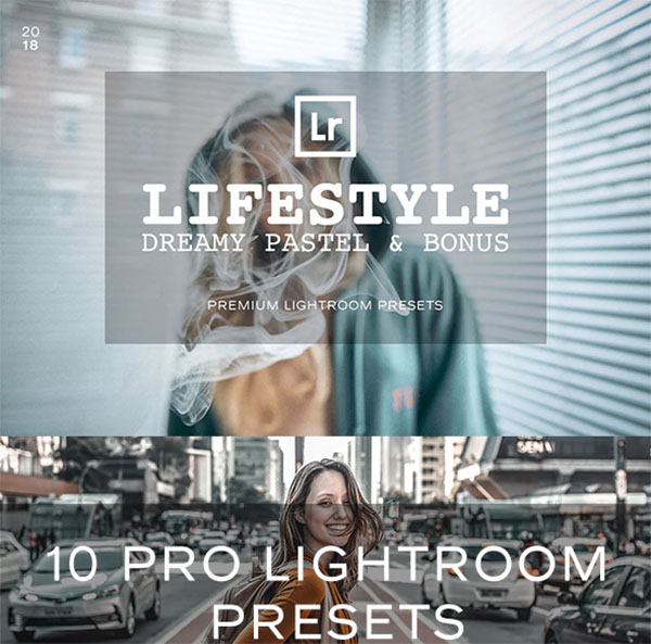 Pastel Lifestyle Lightroom Preset