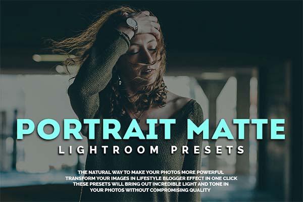 Portrait Matte Lightroom Presets Collection