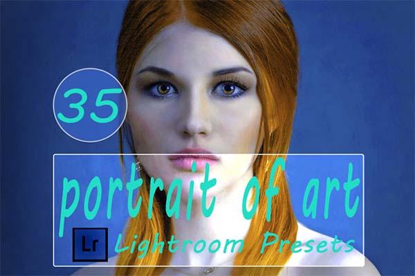 Portrait of Art Lightroom Presets