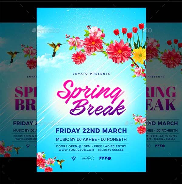 Print Spring Flyer Template