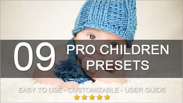Pro Children Lightroom Presets