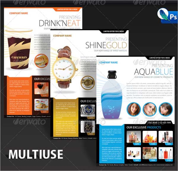 Product Flyer Mega Pack Template