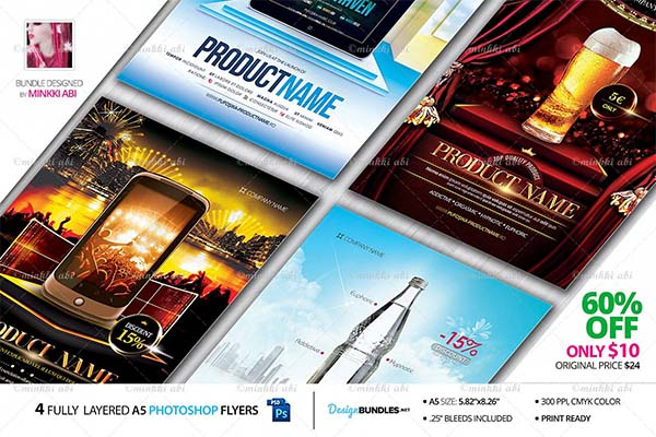 Product Flyers Bundle