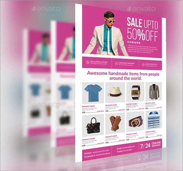 Product PSD Flyer Template