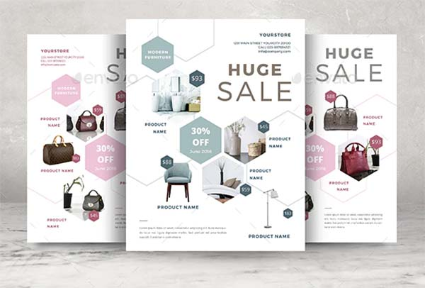 Product Print ready Flyer Template