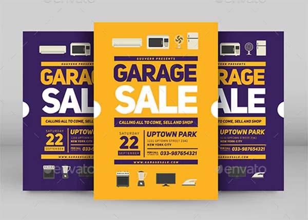 Promotion Garage Sale Flyer