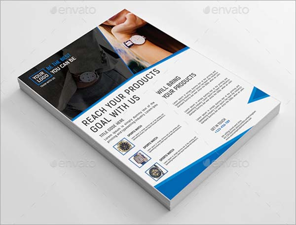 Promotion Product Flyer Template