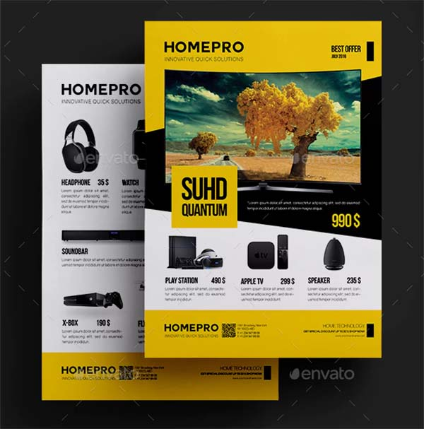 Promotional Product Flyer Template