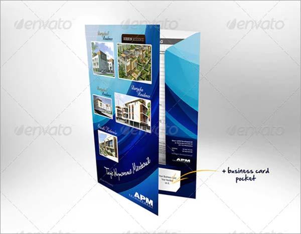 Proposal Paper Folder Mockup
