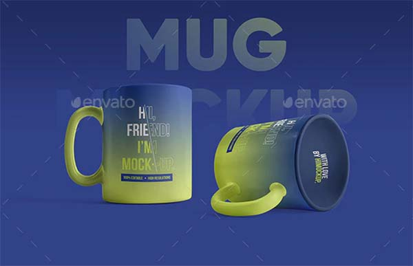 Mug Realistic Mockups