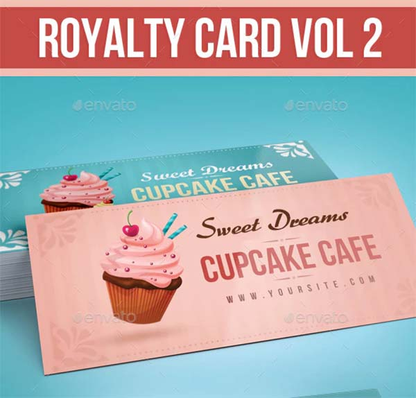 Royalty Loyalty Card Template