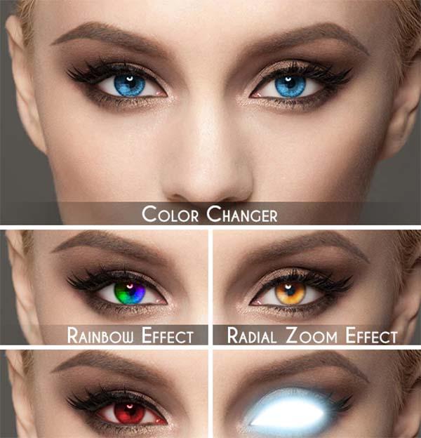 Selective Eyes Photoshop Action