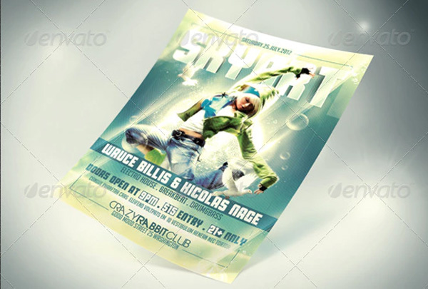 Sky Art Flyer Template