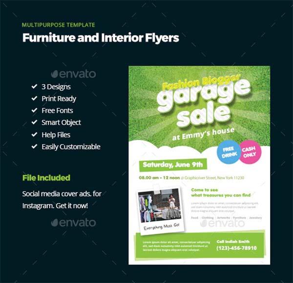 Smart Garage Sale Flyers