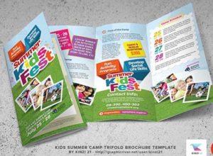 Summer Camp Brochure Templates