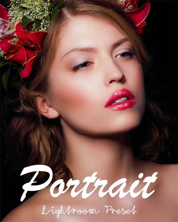 Portrait Lightroom Preset, TIFF, JPG Files