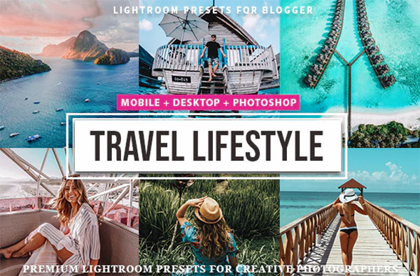 Travel & Lifestyle Lightroom Presets