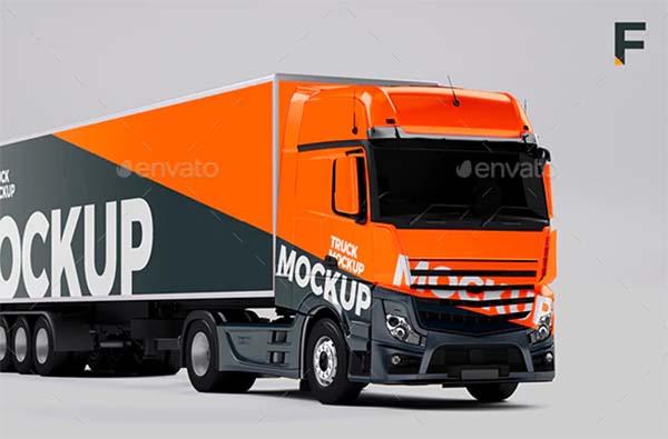 Truck Mockup