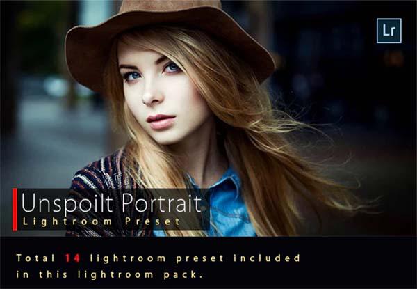 Unspoilt Portrait Lightroom Preset Design